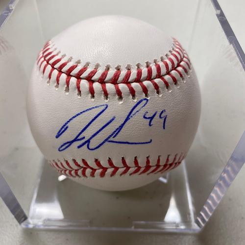 Photo of Autographed Baseball - Jaylin Davis