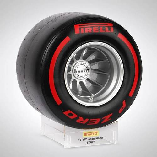 Photo of Pirelli Wind Tunnel Tyre - Red Soft Compound