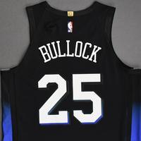 Reggie Bullock - New York Knicks - Game-Worn City Edition Jersey - 2020-21 NBA Season