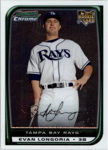 Photo of 2008 Bowman Chrome #216 Evan Longoria RC