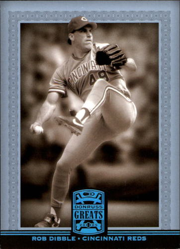 Photo of 2005 Donruss Greats Platinum HoloFoil #69 Rob Dibble