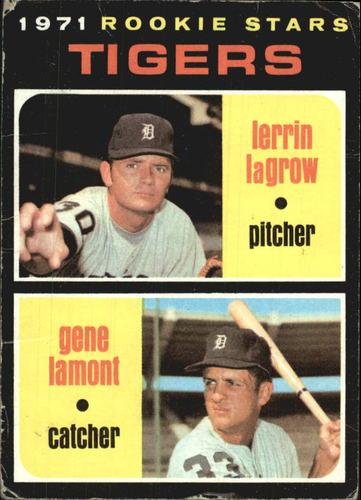 Photo of 1971 Topps #39 Rookie Stars/Lerrin LaGrow RC/Gene Lamont RC