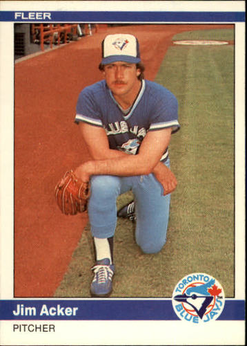 Photo of 1984 Fleer #145 Jim Acker