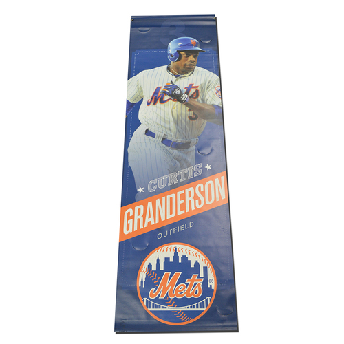 Photo of Curtis Granderson - Citi Field Banner - 2015 Season