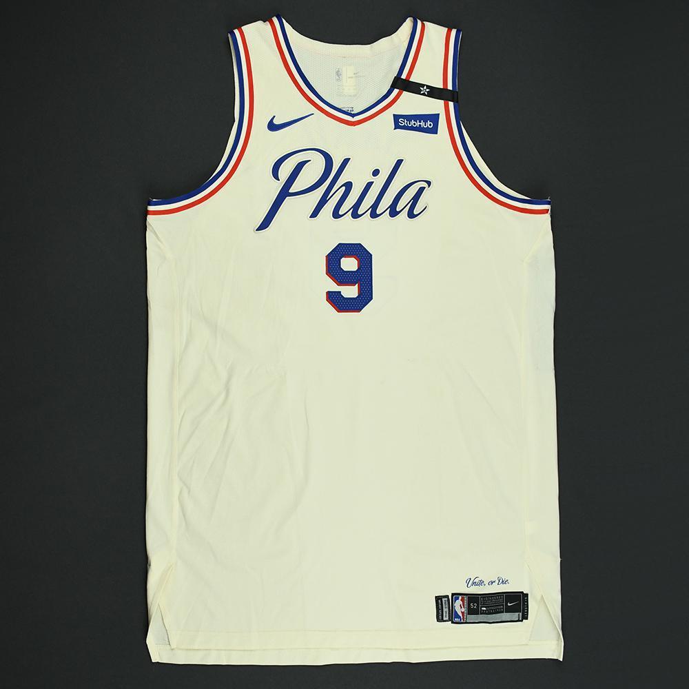 official photos b524a 405b0 Dario Saric - Philadelphia 76ers - 2018 NBA Playoffs Game ...