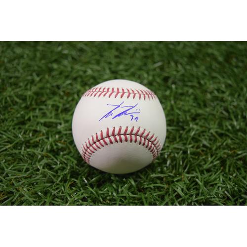 Photo of 20th Anniversary Autographed Baseball: Kevin Kiermaier