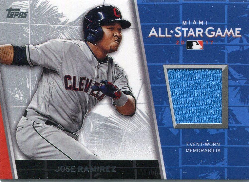 2017 Topps Update All Star Stitches #ASRJR Jose Ramirez