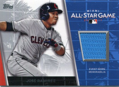 Photo of 2017 Topps Update All Star Stitches #ASRJR Jose Ramirez