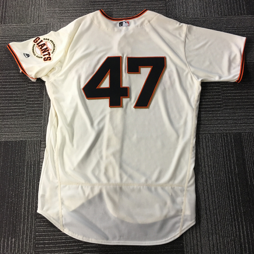 Photo of Johnny Cueto 2x ALL-STAR - Team Issued Gigantes Jersey - Size 48