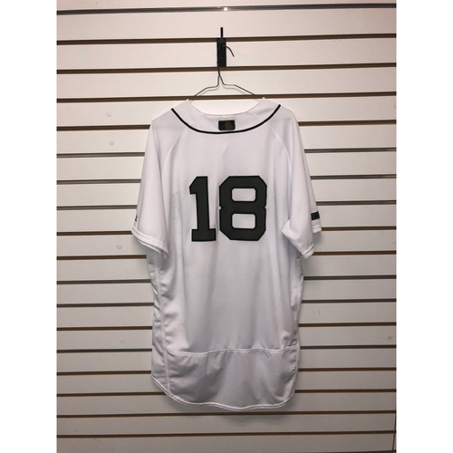 Photo of Mitch Moreland Game-Used May 26, 27, & 28, 2018 Memorial Day Home Jersey