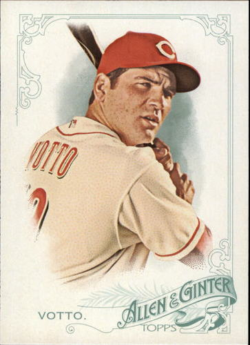 Photo of 2015 Topps Allen and Ginter #215 Joey Votto