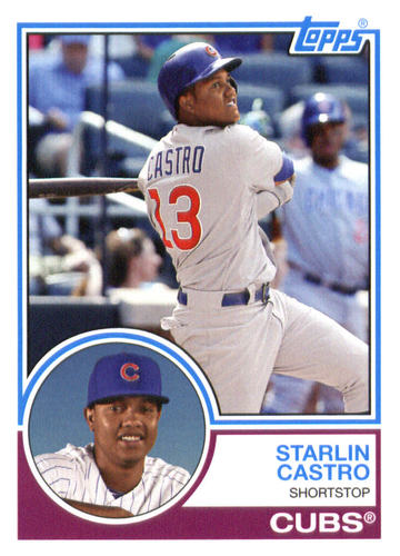 Photo of 2015 Topps Archives #265 Starlin Castro