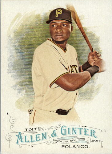 Photo of 2016 Topps Allen and Ginter #130 Gregory Polanco