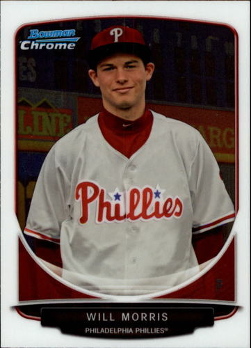 Photo of 2013 Bowman Chrome Draft Draft Picks #BDPP114 Will Morris