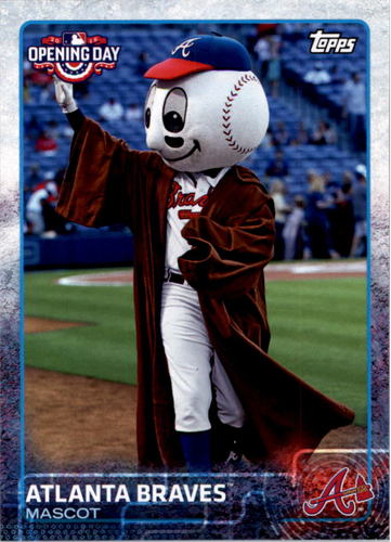 Photo of 2015 Topps Opening Day Mascots #M02 Atlanta Braves