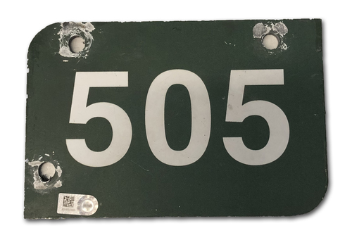 Photo of Wrigley Field Collection -- Aisle Marker 505 -- Removed after 2018 Season