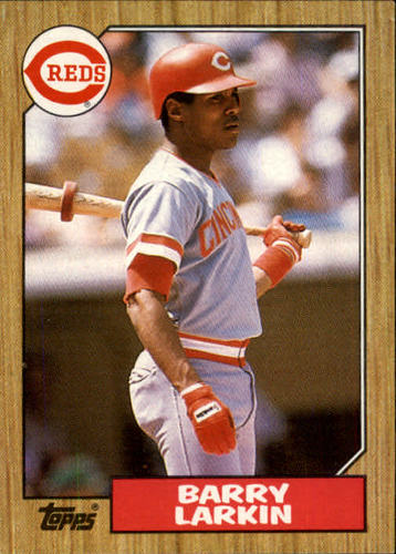 Photo of 1987 Topps #648 Barry Larkin RC