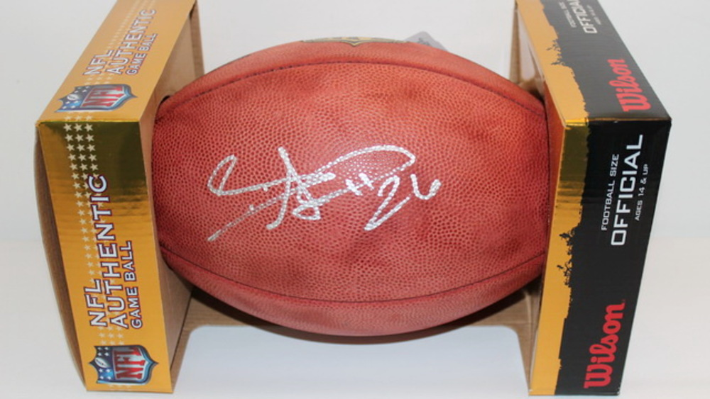 NFL - *UNKNOWN SIGNATURE* SIGNED AUTHENTIC FOOTBALL