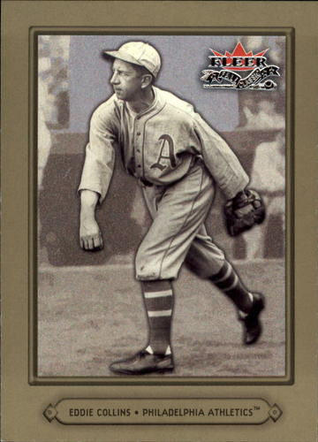 Photo of 2002 Fleer Fall Classics #43A Eddie Collins A's
