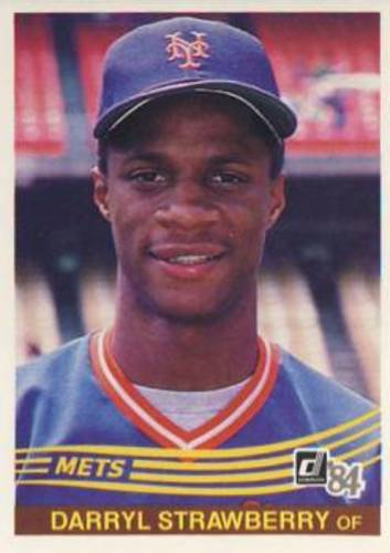 Photo of 1984 Donruss #68 Darryl Strawberry RC