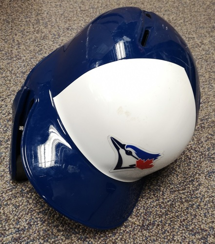 Photo of Authenticated Game Used Helmet - #44 Rowdy Tellez (Sept 10, 19: 2-for-4 with 1 HR, 1 Run and 2 RBIs). Size 7 3/4