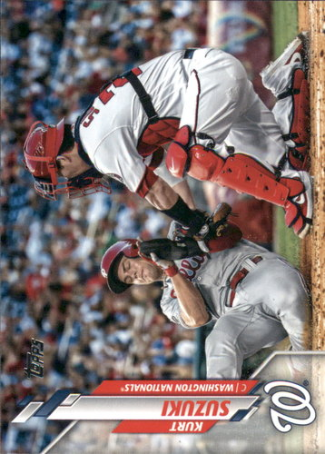 Photo of 2020 Topps #89 Kurt Suzuki