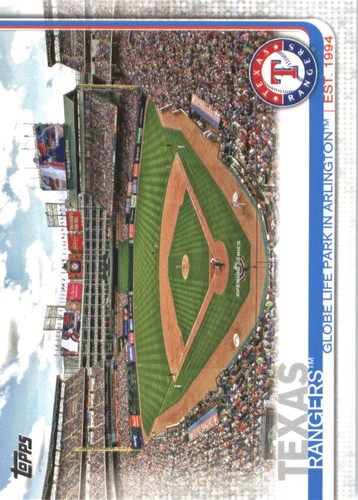 Photo of 2019 Topps #509 Globe Life Park in Arlington
