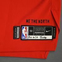 Oshae Brissett - Toronto Raptors - Game-Worn Icon Edition Jersey - NBA Japan Games - 2019-20 NBA Season