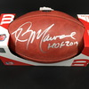 HOF - Jets Kevin Mawae Signed Authentic Football W/ 100 Seasons Logo
