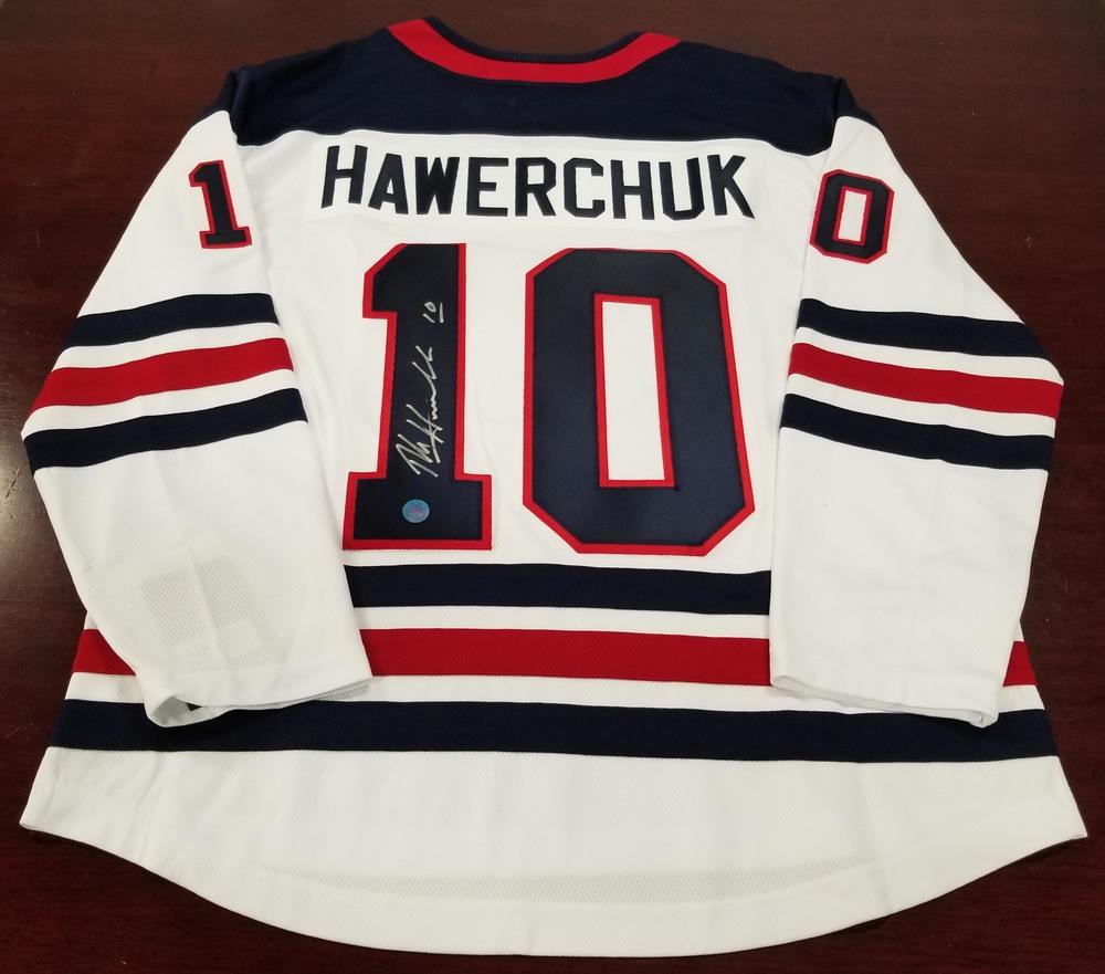 Dale Hawerchuk Winnipeg Jets Autographed Heritage White Fanatics Hockey Jersey