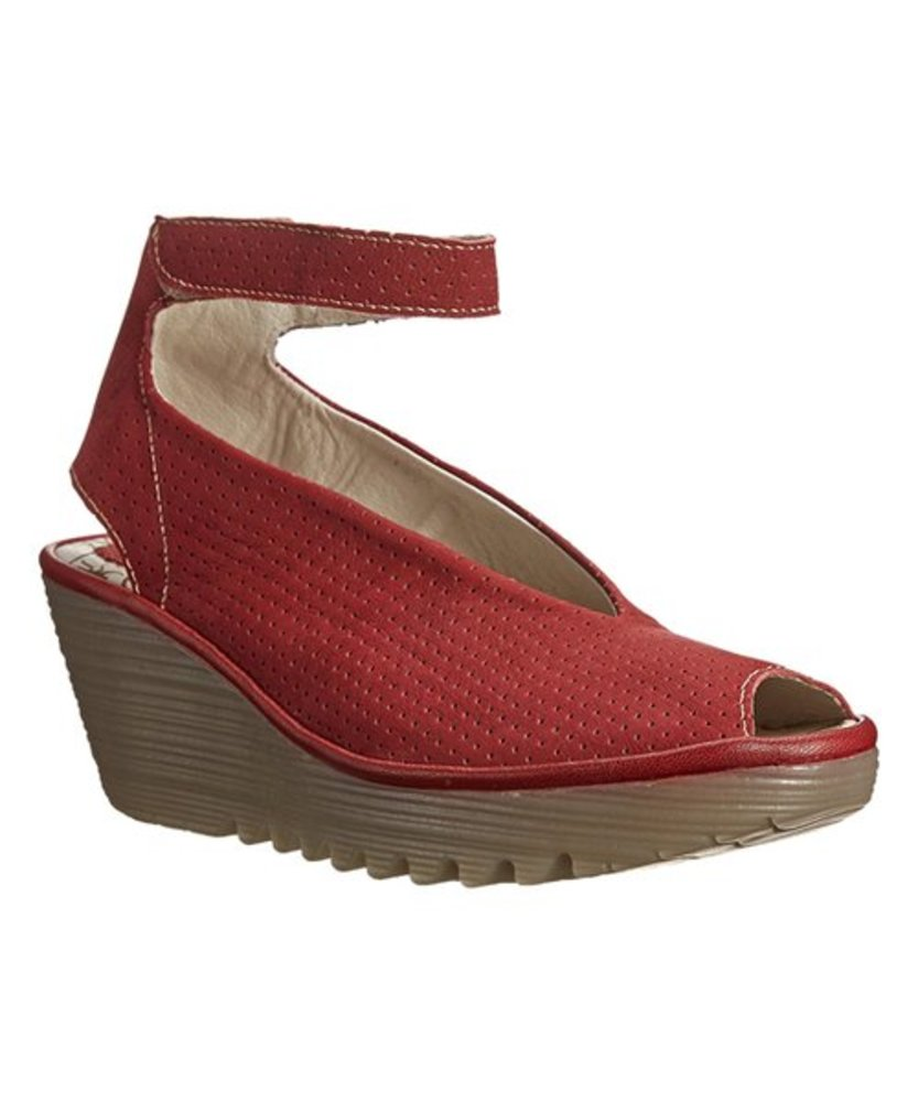 Photo of FLY London Perforated Wedge Sandal