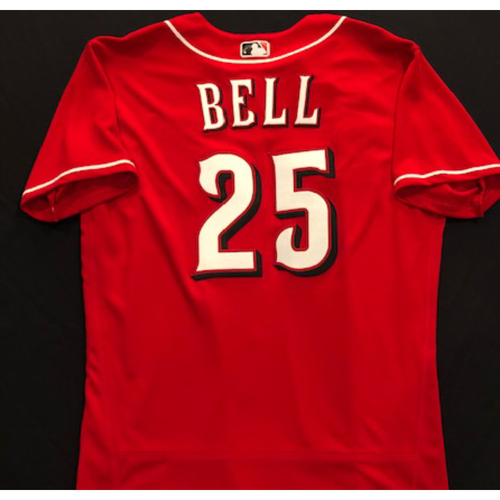David Bell -- 2020 Spring Training Jersey -- Team-Issued -- Size 44