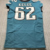 NFL - Eagles Jason Kelce Signed Jersey Size 46