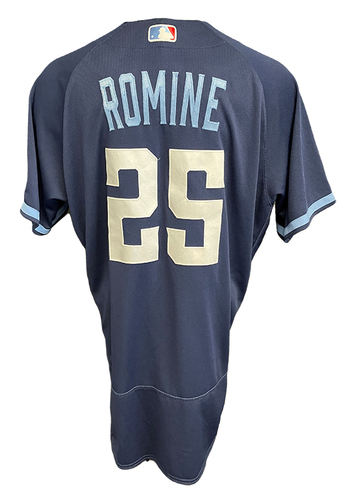 Photo of Austin Romine Game-Used Jersey - City Connect - Cardinals vs. Cubs Game 1 of DH - 9/24/21 - Size 46