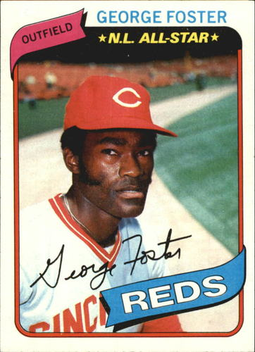 Photo of 1980 Topps #400 George Foster