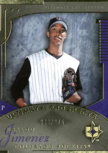 Photo of 2005 Ultimate Collection #209 Ubaldo Jimenez UP RC