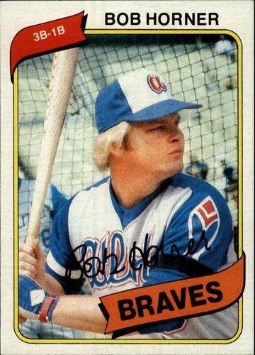 Photo of 1980 Topps #108 Bob Horner