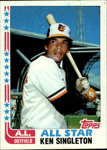 Photo of 1982 Topps #552 Ken Singleton AS