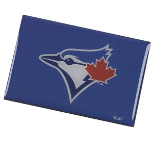 Toronto Blue Jays Team Logo Fridge Magnet by Aminco