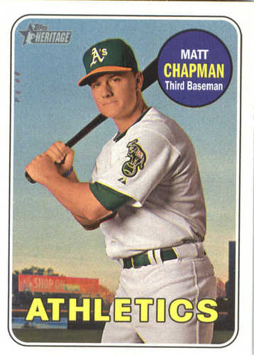 Photo of 2018 Topps Heritage #365 Matt Chapman