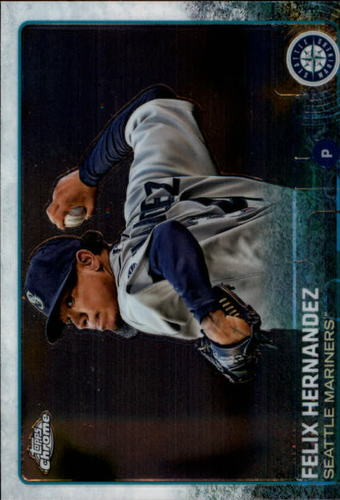 Photo of 2015 Topps Chrome #181 Felix Hernandez