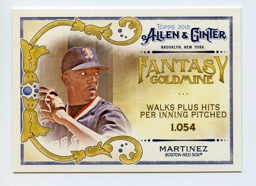 Photo of 2018 Topps Allen and Ginter Fantasy Goldmine #FG17 Pedro Martinez