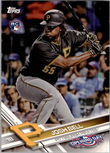 Photo of 2017 Topps Opening Day #57 Josh Bell Rookie Card