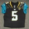 STS - Jaguars Blake Bortles game worn Jaguars jersey (November 12, 2017) Size 44