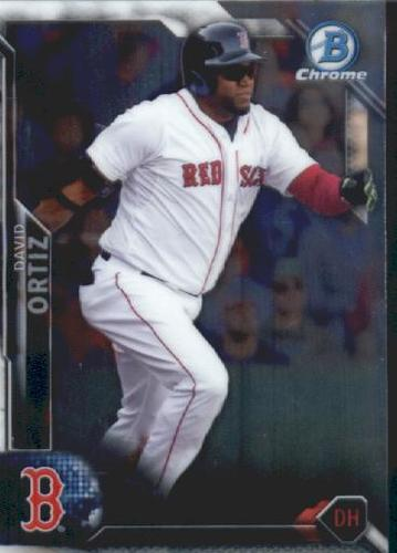 Photo of 2016 Bowman Chrome Vending '16 Bowman #10 David Ortiz
