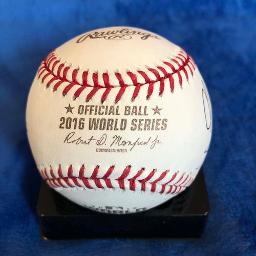 Photo of UMPS CARE AUCTION: 2016 World Series Crew Signed Baseball