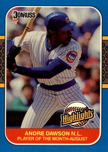Photo of 1987 Donruss Highlights #31 Andre Dawson