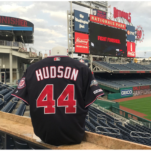 Photo of 2019 NLDS/NLCS Game-Used Jersey: Daniel Hudson