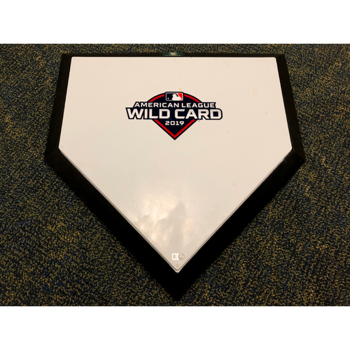Photo of M.C. Hammer First Pitch & Pre-Game Ceremony A.L Wild Card Game Home Plate