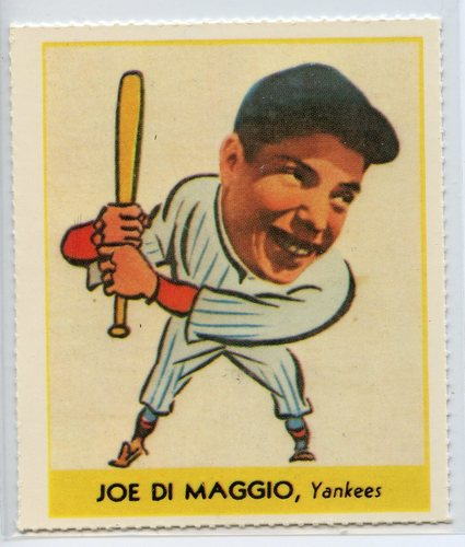 Photo of 1938 Goudey Heads-Up '85 Reprints #250 Joe DiMaggio